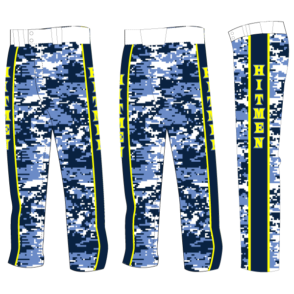 Perfect Game Open-Bottom Baseball/Softball Pants (Full Custom)