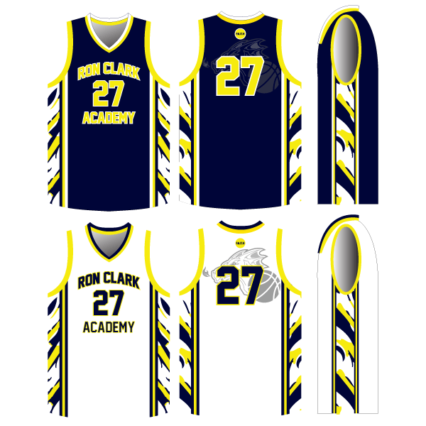 REVERSIBLE And1 Basketball Jersey