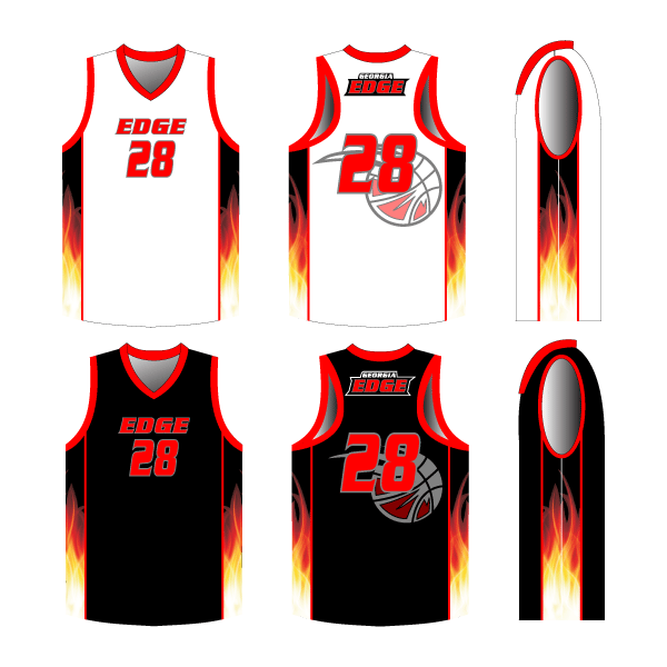 REVERSIBLE Finisher Racerback Basketball Jersey