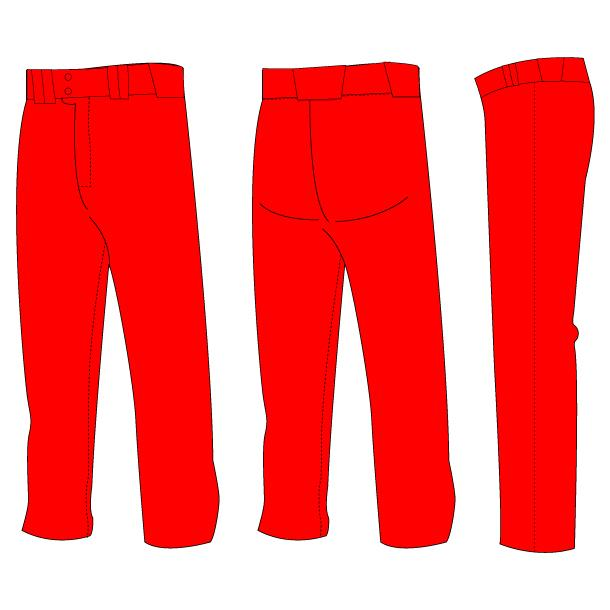 Ground Ball Open-Bottom Baseball/Softball Pants (Solid-Color)