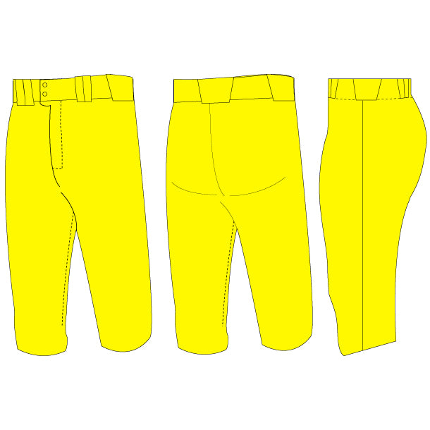 Double Play Lowrise Knicker Softball Pants (Solid-Color)