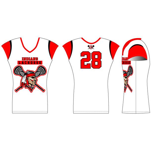 Fast Break Cap Sleeve Lacrosse Jersey