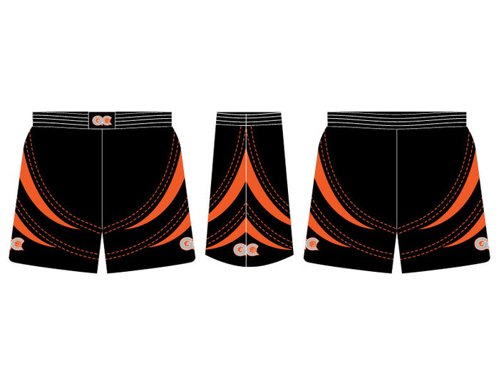 INDIVIDUAL Hoops Fitted Basketball Shorts w/ Waist Emblem