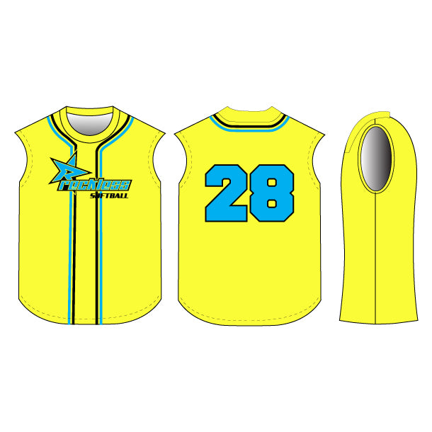 Batter Up Sleeveless Baseball/Softball Jersey