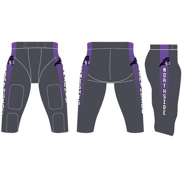 Blitz Spandex Integrated Football Pants (Partial Custom)