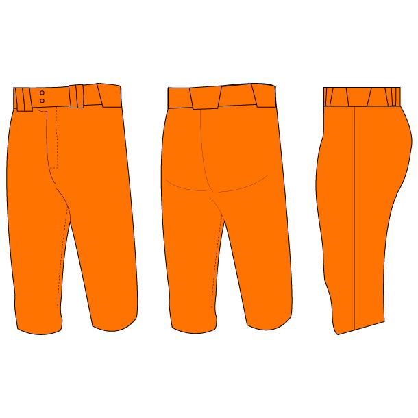 Shutout Pro Knicker Baseball Pants (Solid-Color)