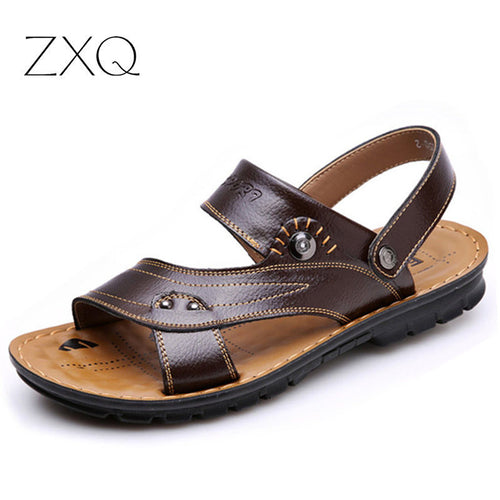 Genuine Leather Mens Sandal