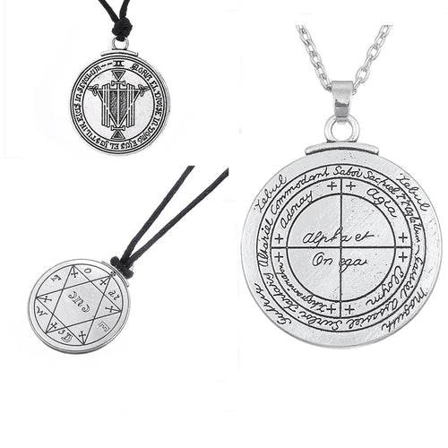 Key of Solomon Pentacle Seal (Talisman For Good Luck)