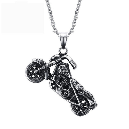 Men's Ghost Rider Necklace