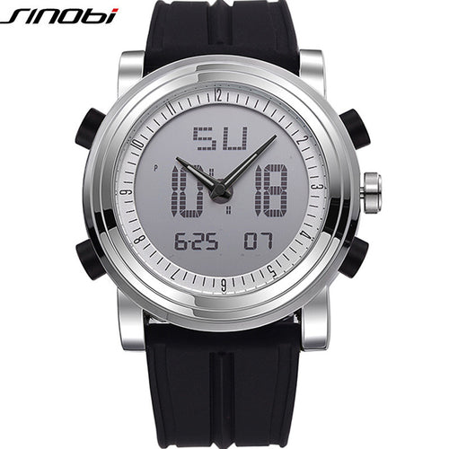 Digital Sports Chronograph Men's Waterproof Wrist Watch