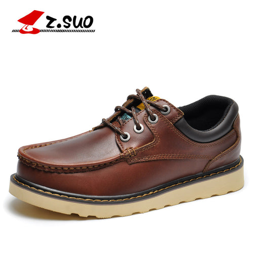 Casual Leather Boat Shoes