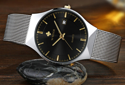 Super slim Quartz Casual Wristwatch
