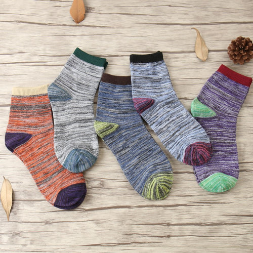Men's Retro Ankle Socks