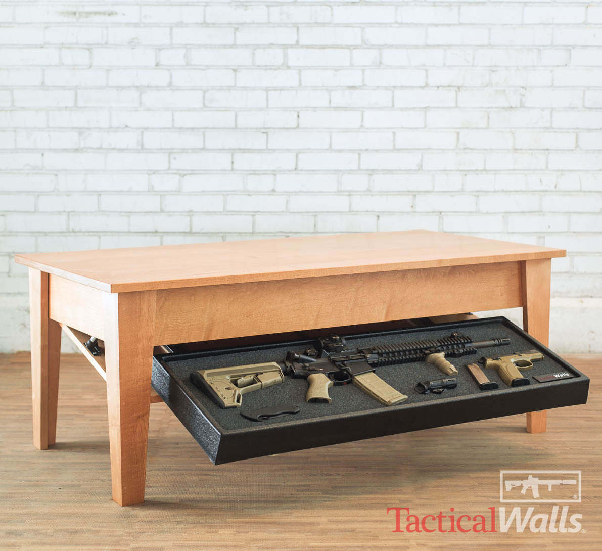 Pleasing Tactical Wall Coffee Table Rfid Onthecornerstone Fun Painted Chair Ideas Images Onthecornerstoneorg