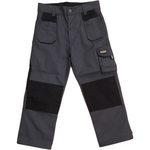 Kerosene  Pro Work Junior Trouser Grey/Black