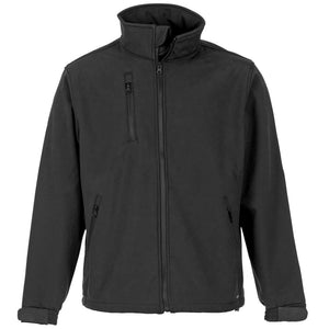 Black Soft Shell Jacket - SuperStuff Workwear