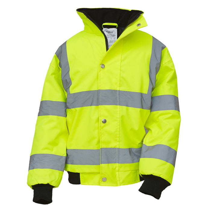 Kids Hi Vis Jacket - SuperStuff Workwear