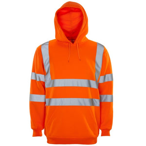 Yellow Hi Vis Hoodie EN ISO 20471 - SuperStuff Workwear