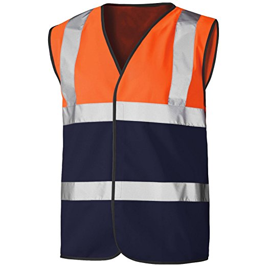 Two Tone  Hi Vis Vest EN ISO 20471 - SuperStuff Workwear