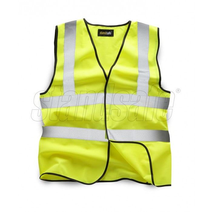 Yellow Hi Vis Vest EN ISO 20471 - SuperStuff Workwear