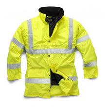 Load image into Gallery viewer, Yellow Storm Flex PU Parka EN ISO 20471 - SuperStuff Workwear