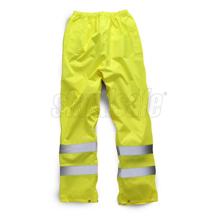 Orange Waterproof Over Trouser EN ISO 20471 GO/RT 3279/RIS-3279-TOM - SuperStuff Workwear