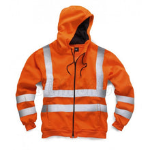 Load image into Gallery viewer, Orange  Hi Vis Zipper EN ISO 20471 GO/RT 3279/RIS-3279-TOM - SuperStuff Workwear