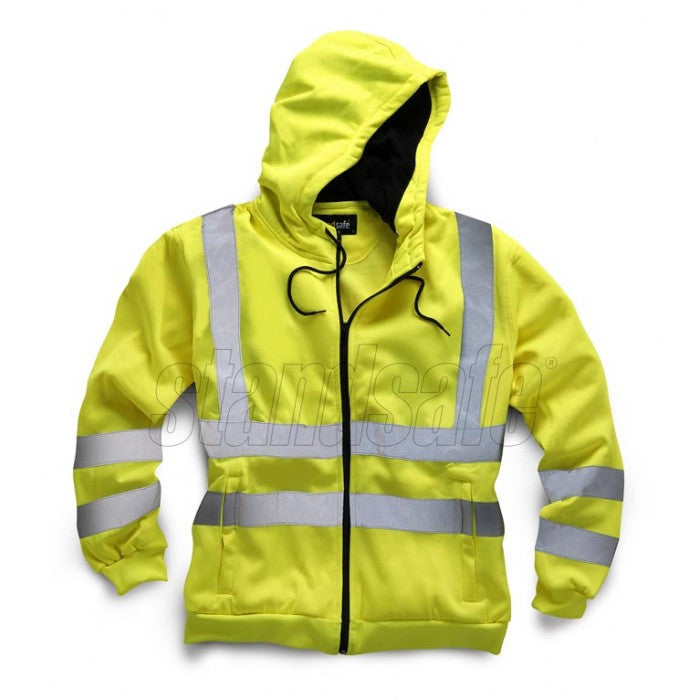Orange  Hi Vis Zipper EN ISO 20471 GO/RT 3279/RIS-3279-TOM - SuperStuff Workwear