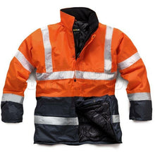 Load image into Gallery viewer, Hi Vis 2 Tone Parka EN ISO 20471 - SuperStuff Workwear