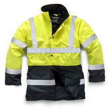 Load image into Gallery viewer, Orange 2 Tone Parka EN ISO 20471 - SuperStuff Workwear