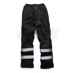 Black Waterproof OverTrouser - SuperStuff Workwear