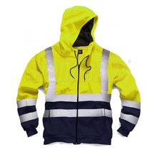 Load image into Gallery viewer, Orange Hi Vis Two Tone Zipper EN ISO 20471 - SuperStuff Workwear