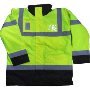 Yellow/Black Parka Hi Vis Jacket EN ISO 20471