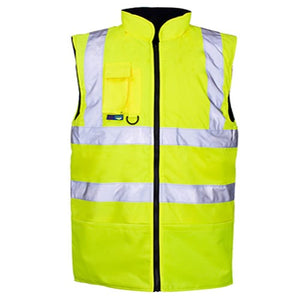 Hi Vis Bodywarmer EN ISO 20471 - SuperStuff Workwear
