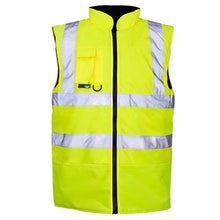 Load image into Gallery viewer, Orange Hi Vis Bodywarmer EN ISO 20471 GO/RT 3279/RIS-3279-TOM - SuperStuff Workwear