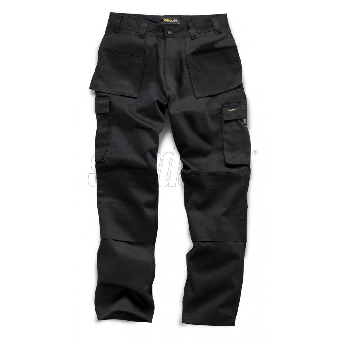 Standsafe PRO WORK TROUSER Black - SuperStuff Workwear