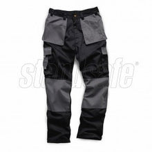 Load image into Gallery viewer, Grey/Black Two Tone Pro Work Trouser - SuperStuff Workwear
