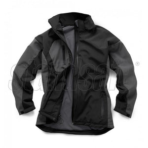 TWO TONE SOFTSHELL WATERPROOF WINDPROOF JACKET - SuperStuff Workwear