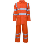 High Visibility Hooded Rainsuit Orange EN ISO 20471 GO/RT 3279/RIS-3279-TOM - SuperStuff Workwear
