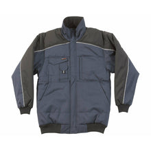Load image into Gallery viewer, Tuffstuff Buckland Bomber Jacket Navy - SuperStuff Workwear