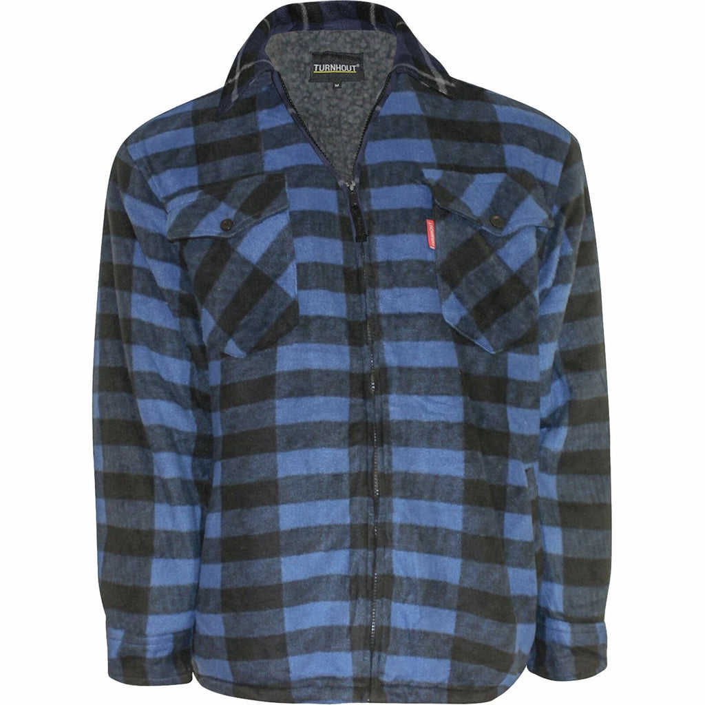 Fleece Lined Padded Shirt