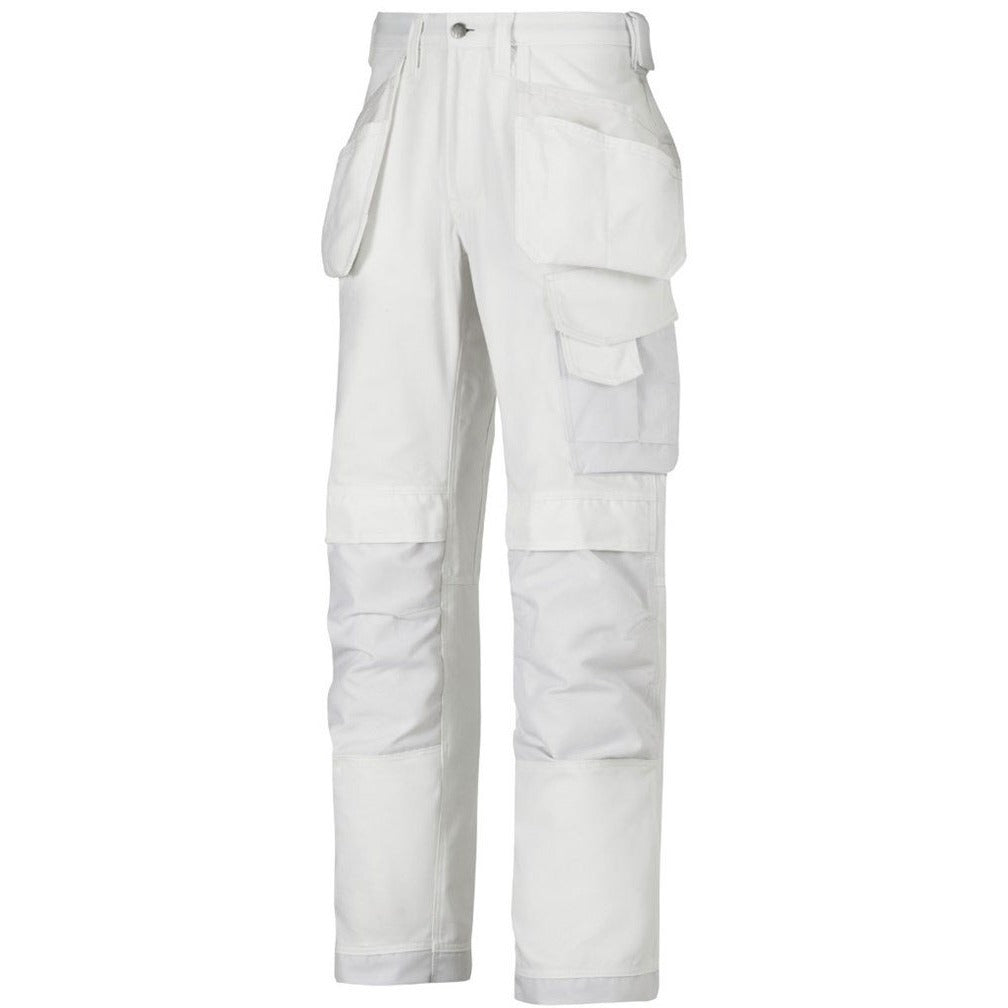 TuffStuff Professional WHITE Painters  Work Trouser - SuperStuff Workwear