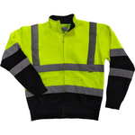 Hi Vis Two Tone Zippper without hood