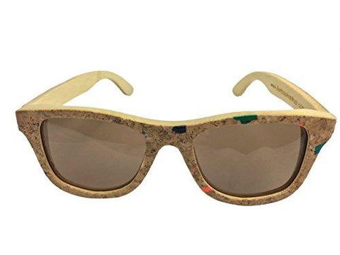 cork and bamboo sunglasses