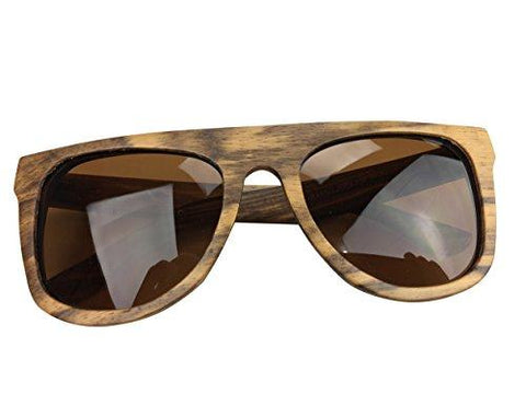 bamboo sunglasses brown