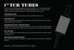 TCB 1-inch Disposable Tubes (25 per box)