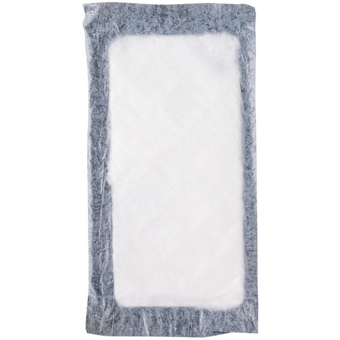 "Black 4"" x 7"" Absorbent Pad - 1000 / Pack"