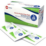 Dynarex Alcohol Prep-Pads - 100 Pack