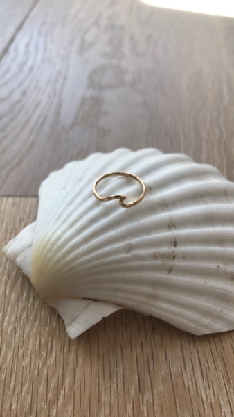 Handmade Wave Ring