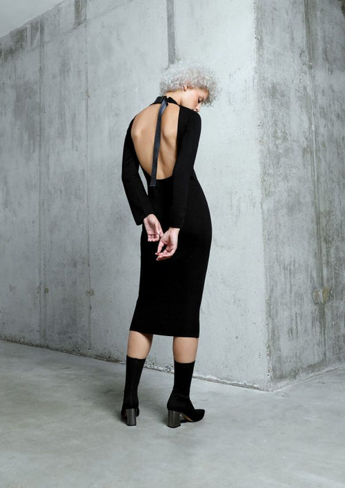 "THE ""CIVIL"" KNIT DRESS"